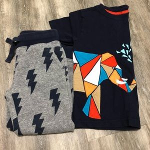 3T Boys pants and Tshirt Gymboree